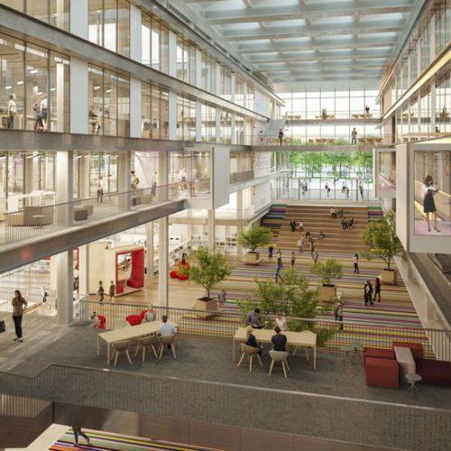 L'EM Lyon revient en ville dans un bâtiment inspiré des nouveaux sièges sociaux